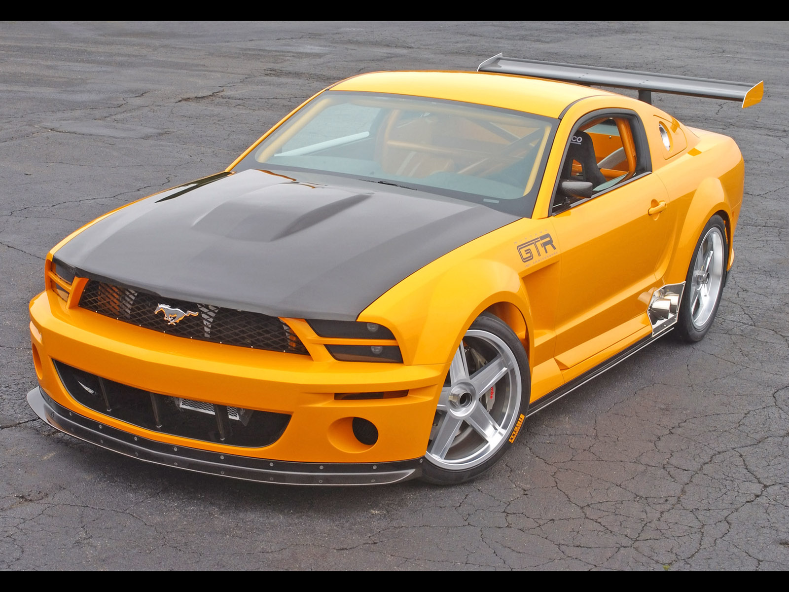 mustang gt ford 2005 concept cars gtr fast mustangs saleen front hood boss shelby voitures conceptcarz without babes rate above