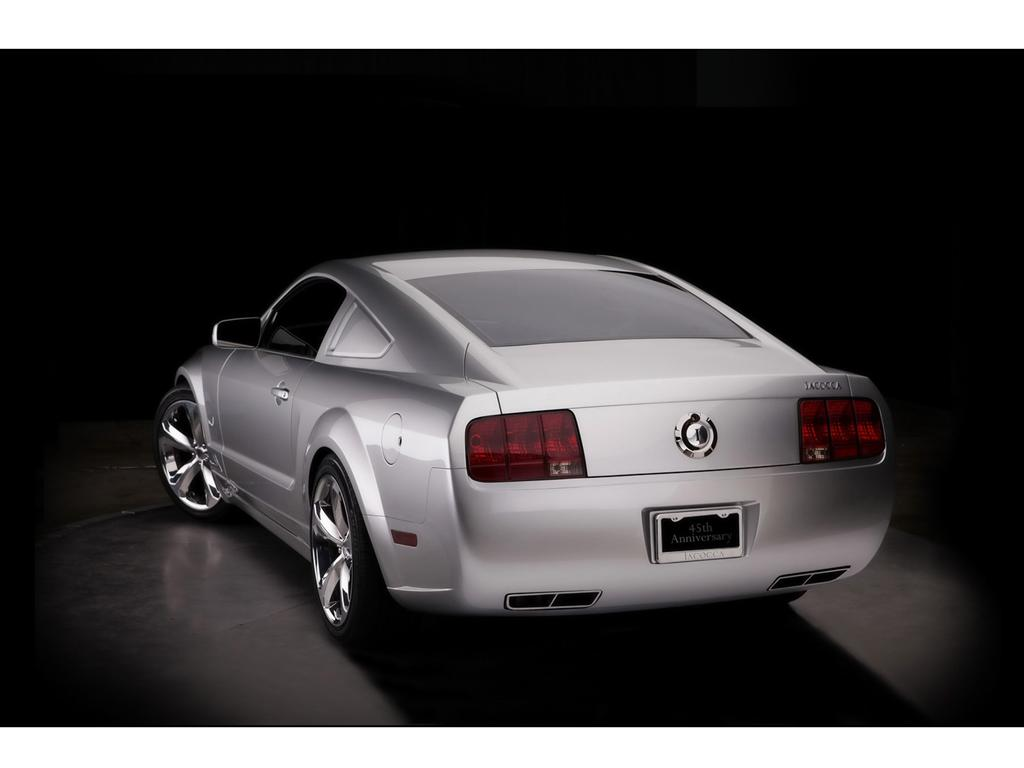 2009 Ford Iacocca Silver 45th Anniversary Mustang  conceptcarzcom