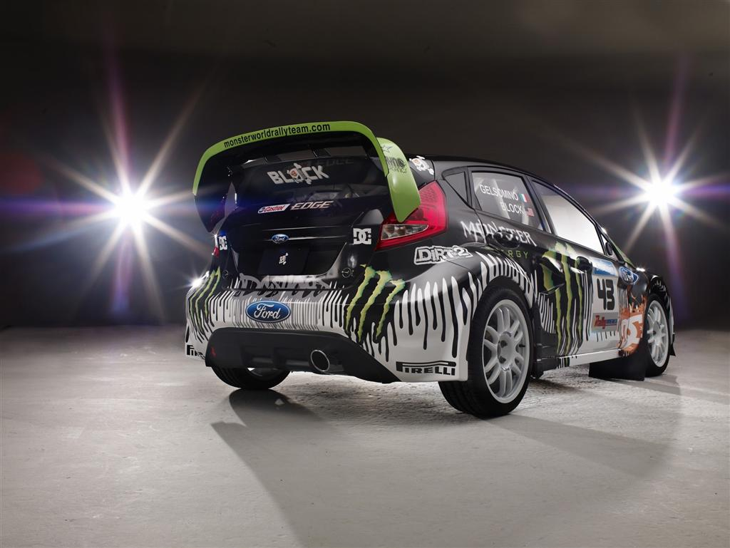 Ford Fiesta Monster World Rally Conceptcarz Com