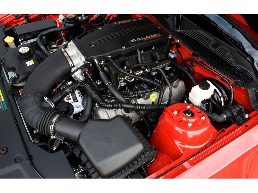 2004 Saleen Mustang Engine The Image