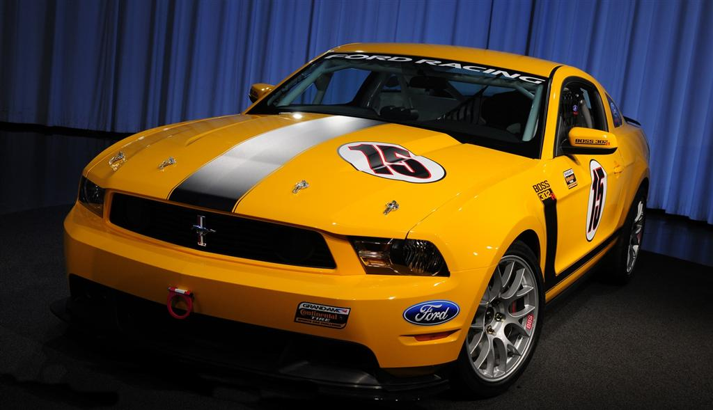 Ford Mustang Boss Conceptcarz Com