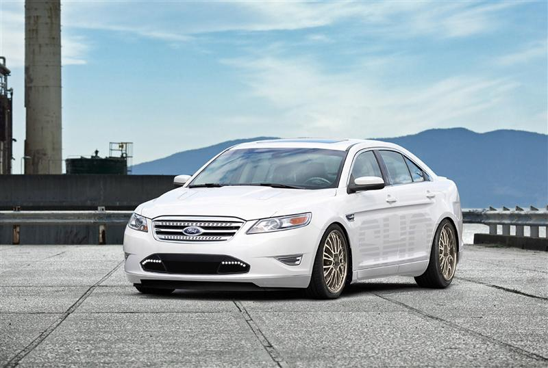 White Ford Fusion News >> 2011 Ford Taurus SHO by H&R Springs - conceptcarz.com