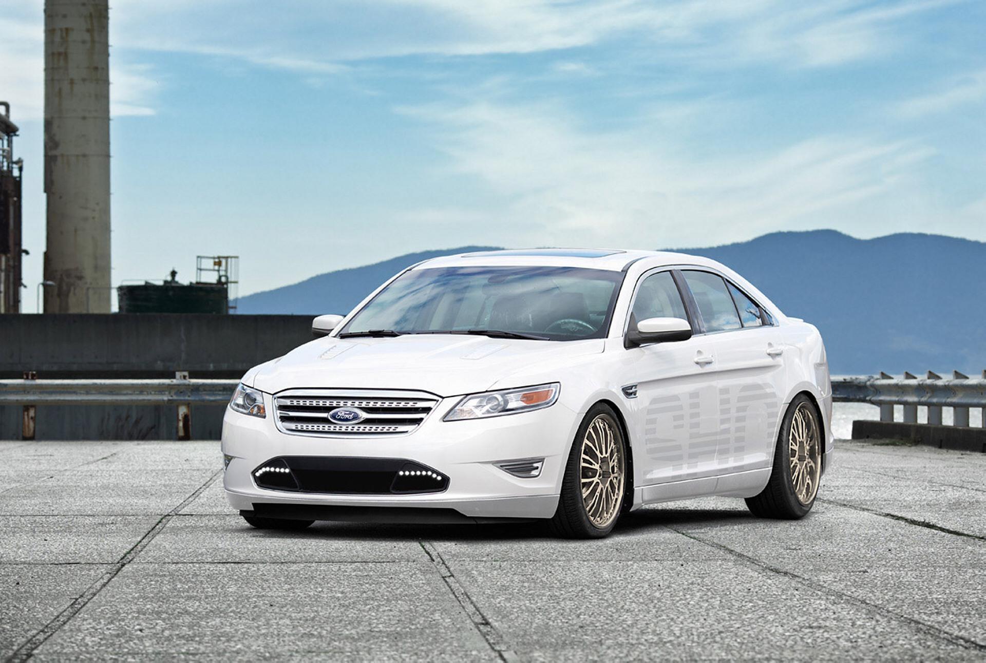 2011 Ford Taurus SHO by H&R Springs - conceptcarz.com