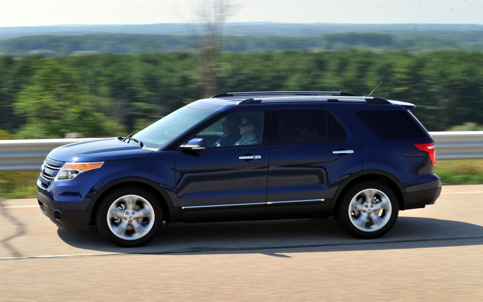 2012 ford explorer image - Ford Explorer 2012 Black