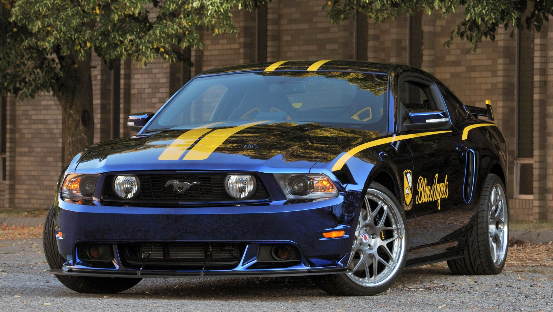 2012 ford mustang gt blue angels. Black Bedroom Furniture Sets. Home Design Ideas