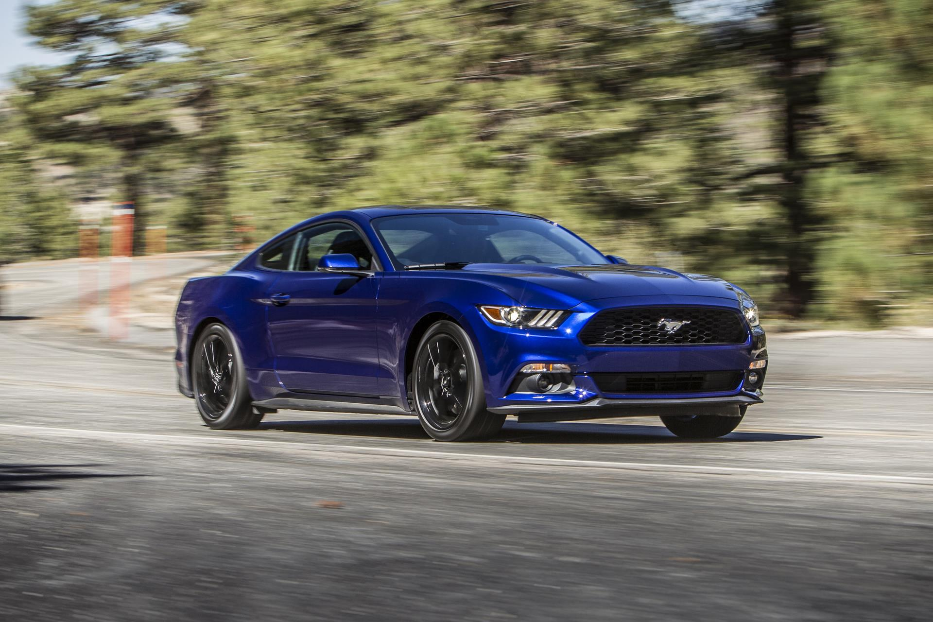 2015 ford mustang conceptcarzcom - 2015 Ford Mustang V6 Blue