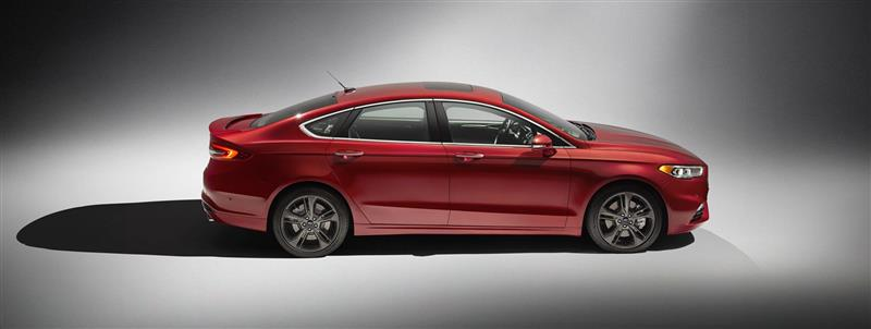 2017 Ford Fusion Sport Image