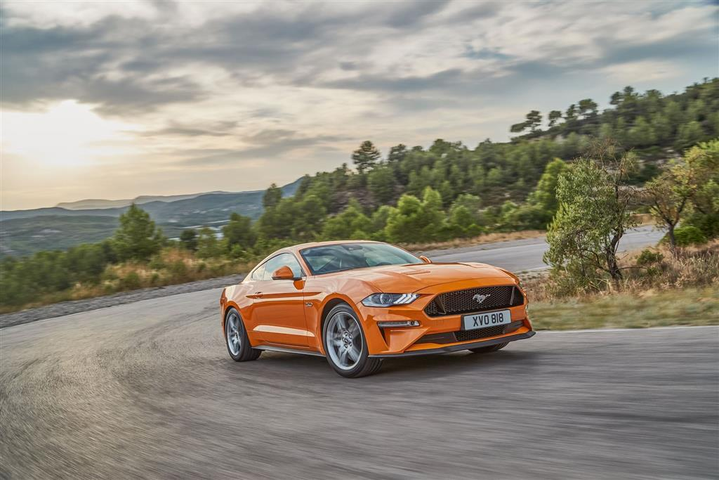 Ford Mustang EU pictures and wallpaper