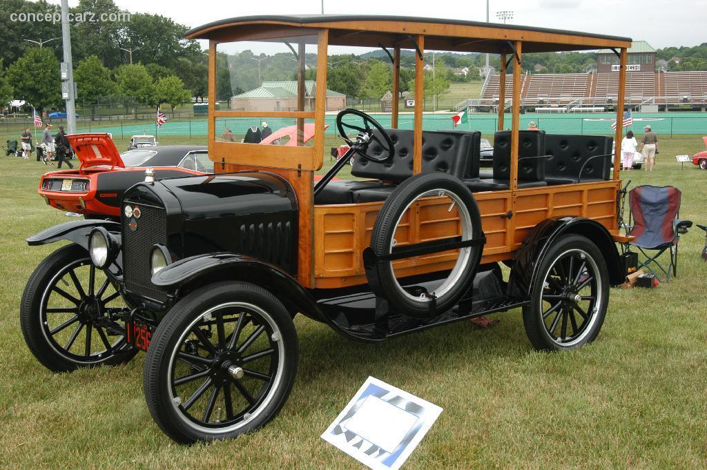 1923 Ford Model T Hack Hercules Image