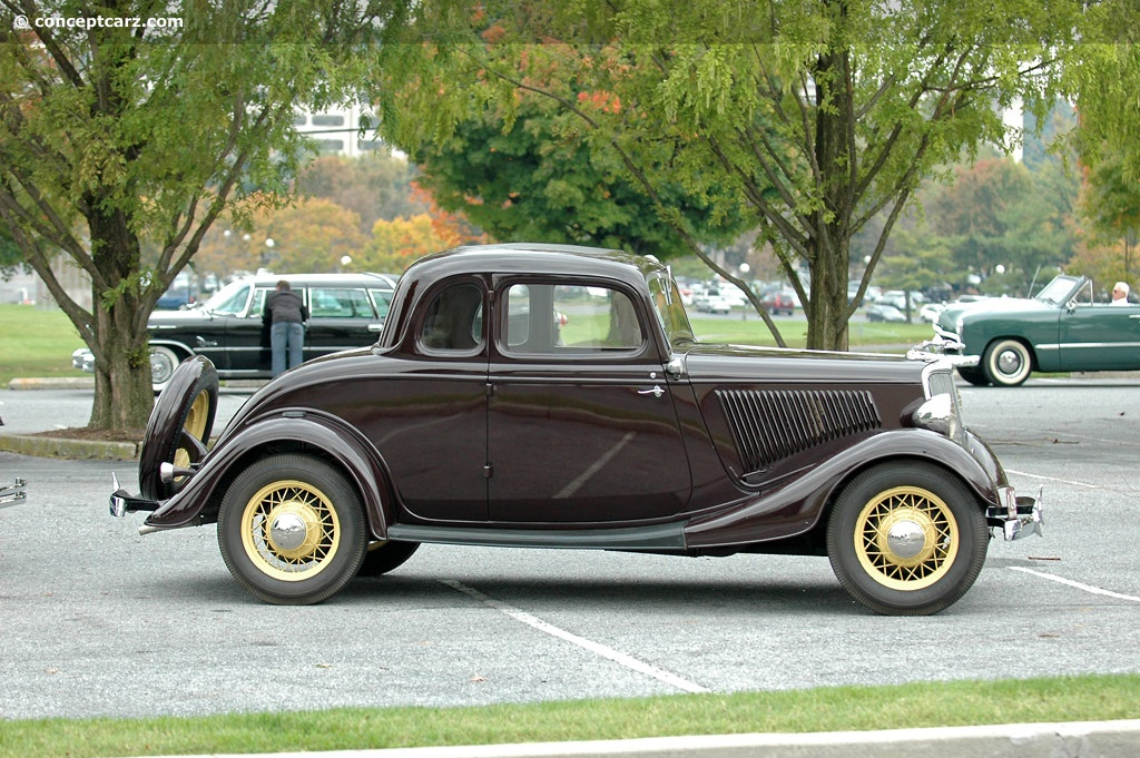 1934 Ford Model 40 Deluxe Conceptcarz Com