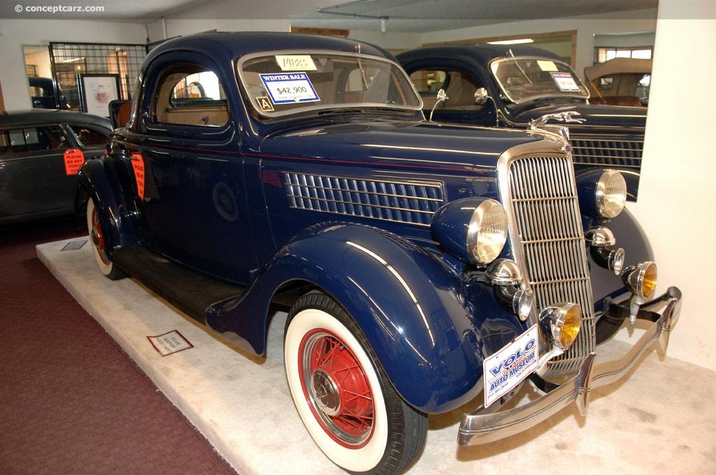 1935 Ford Model 48 Eight V 8 Deluxe Phaeton Tudor