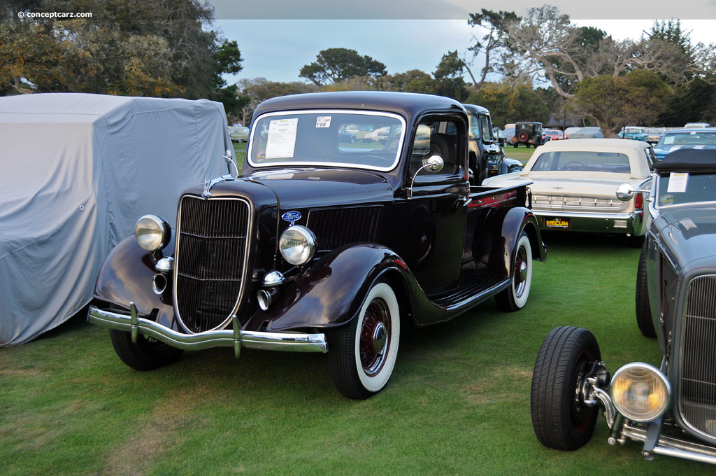 auction results and data for 1935 ford pickup. Black Bedroom Furniture Sets. Home Design Ideas