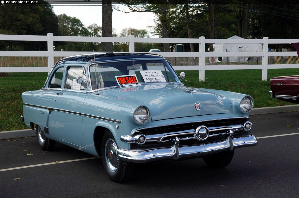 Auction results and data for 1954 Ford Customline  conceptcarzcom
