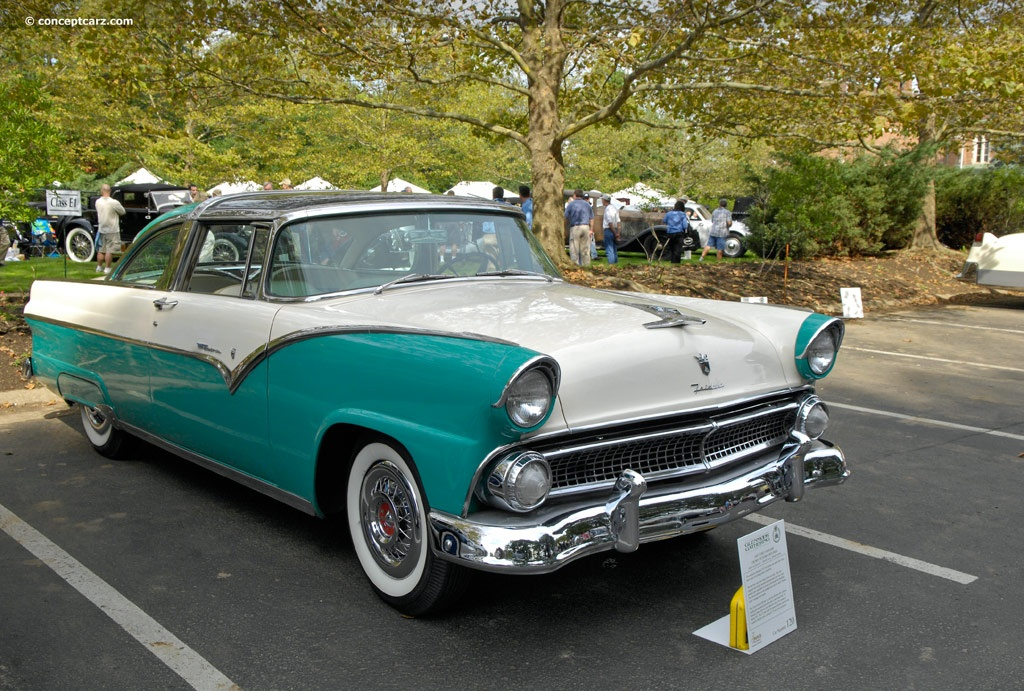1955 Ford Fairlane Images Photo 55FordFairlaneSkylinerDV