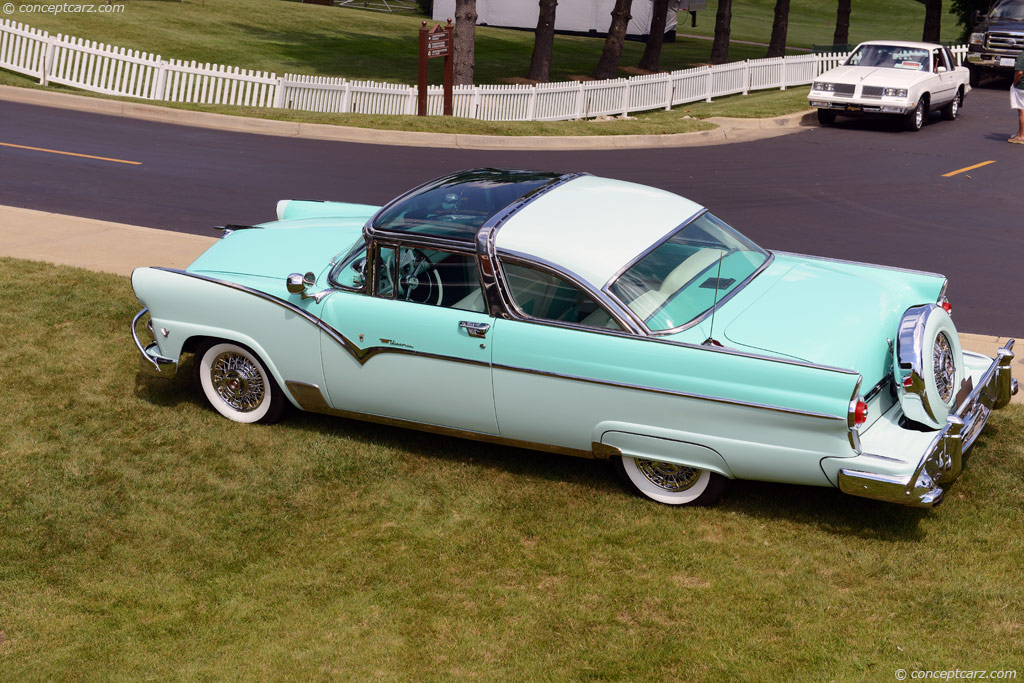 Auction Results And Data For 1955 Ford Fairlane Conceptcarz Com