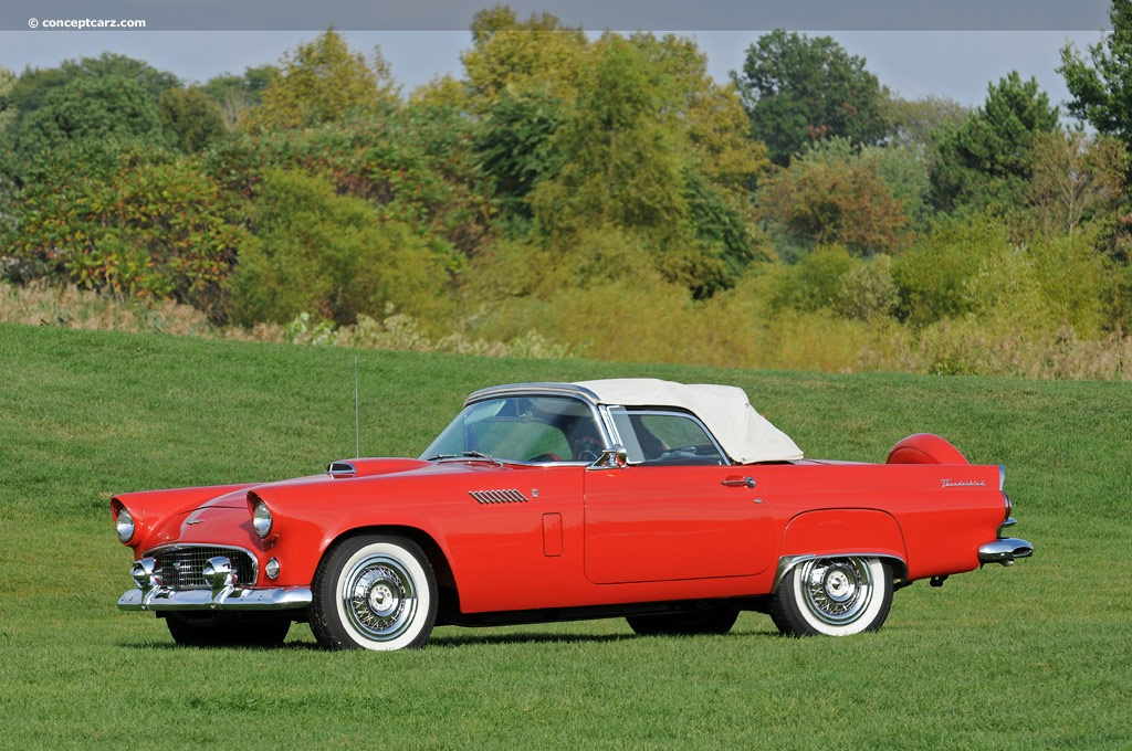 1956 ford thunderbird. Black Bedroom Furniture Sets. Home Design Ideas