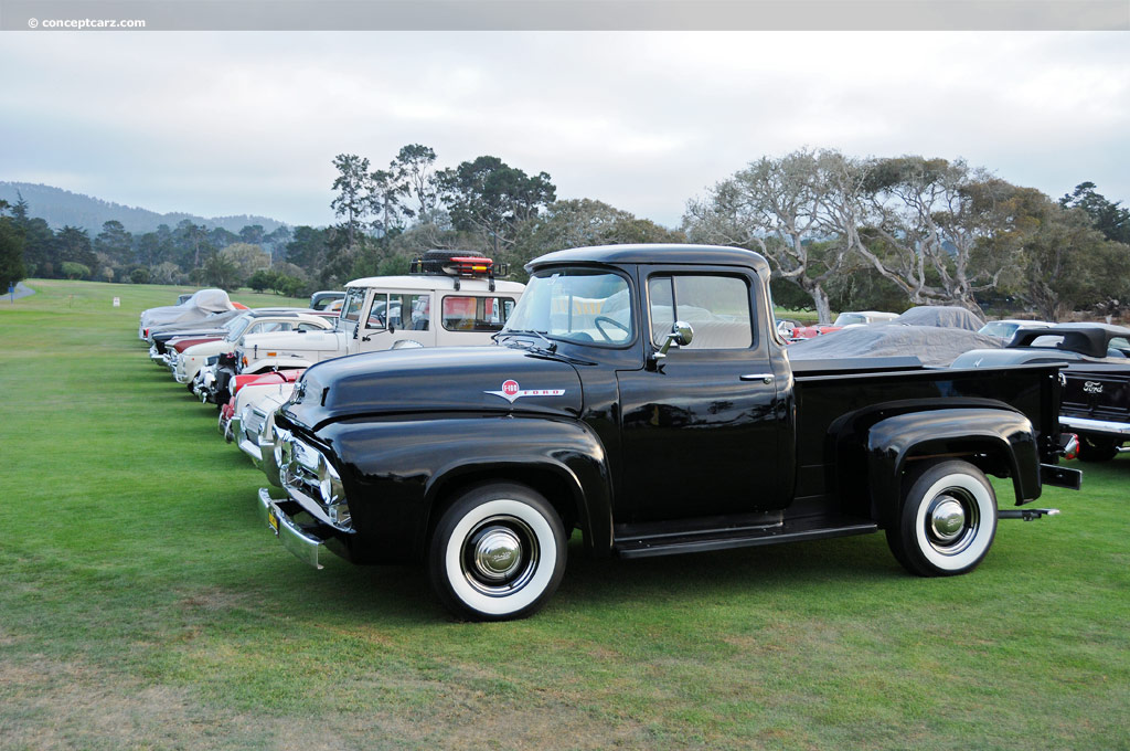 1956 ford f100 pictures  history  value  research  news