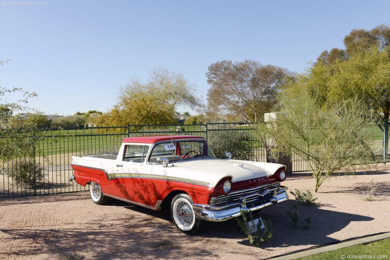 1957 Ford Custom 300 Series Ranchero Image Chassis Number