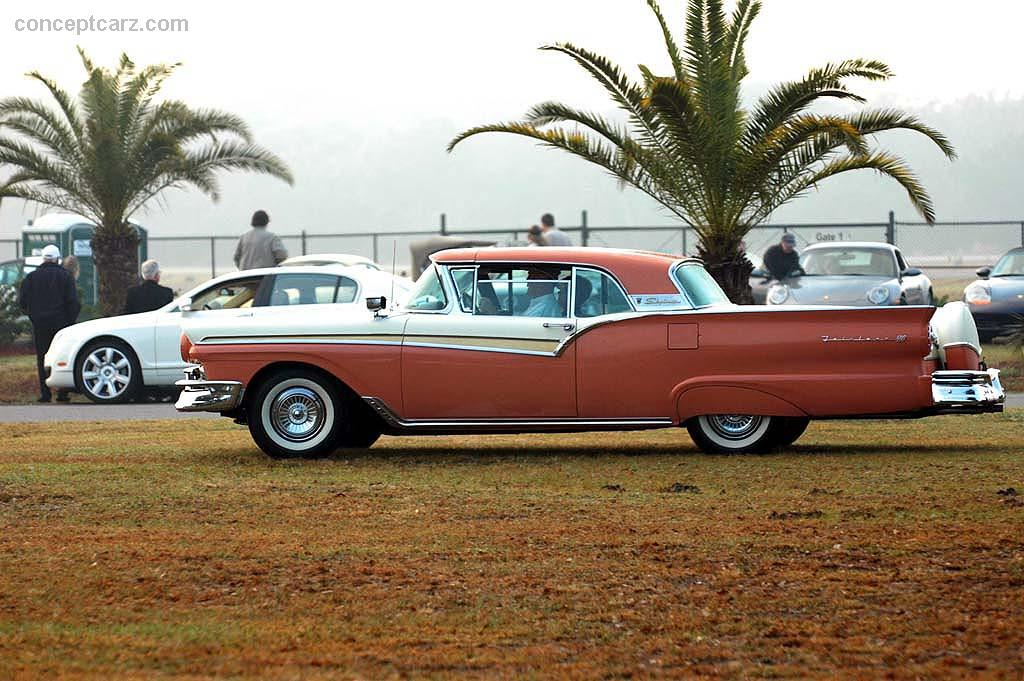1957 Ford Fairlane auction sales and data.