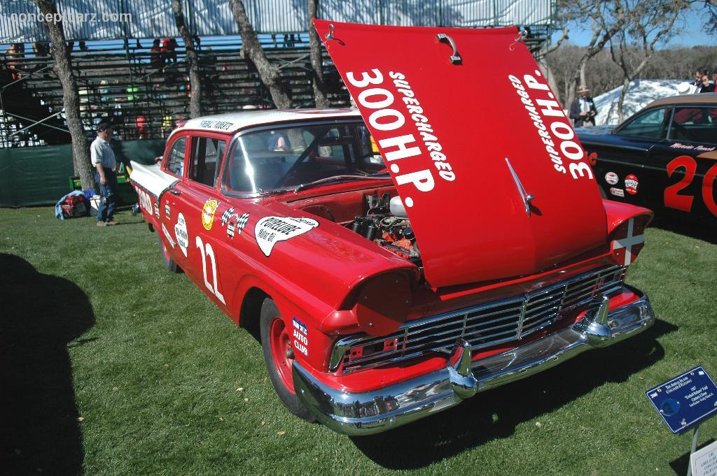 1957 Ford Custom Fireball Roberts History Value