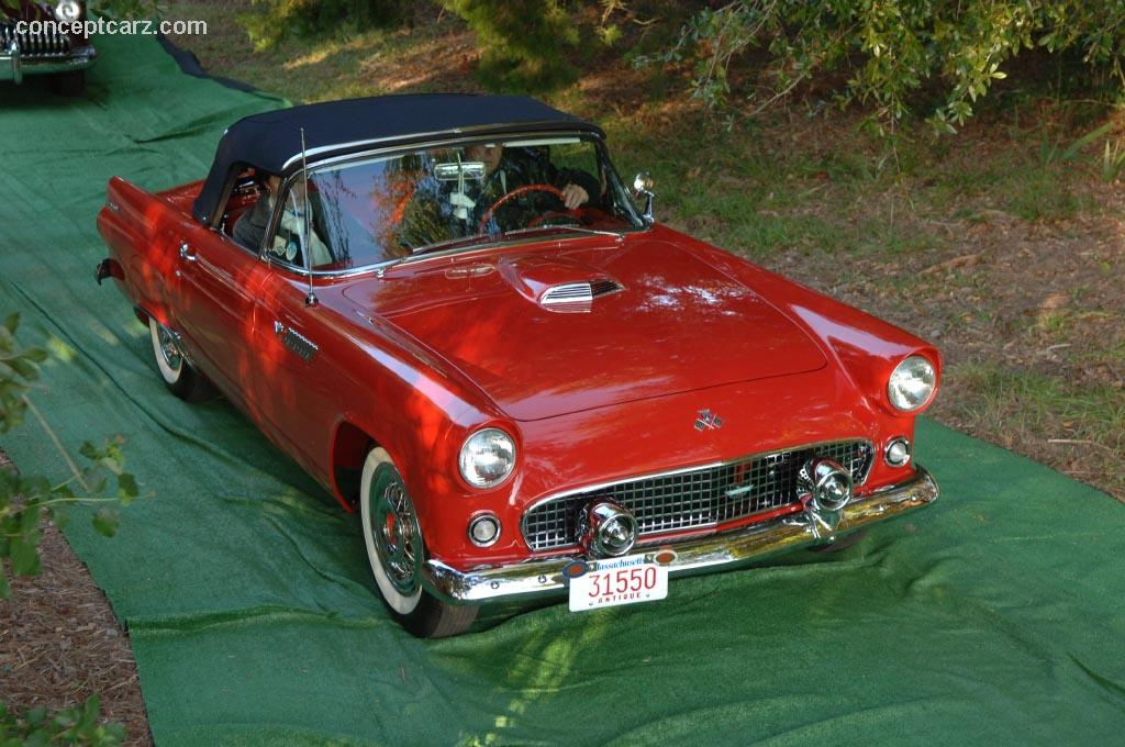 ... 1957 Ford Thunderbird ... & 1957 Ford Thunderbird at the Hilton Head Island Concours Car Club ... markmcfarlin.com