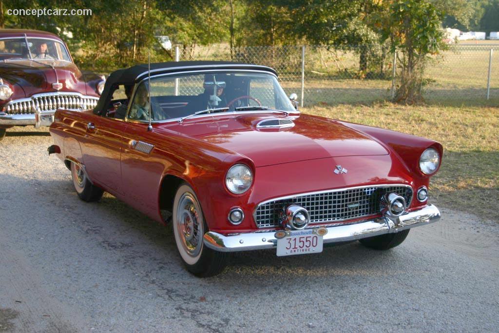 1957 Ford Thunderbird ... & 1957 Ford Thunderbird at the Hilton Head Island Concours Car Club ... markmcfarlin.com