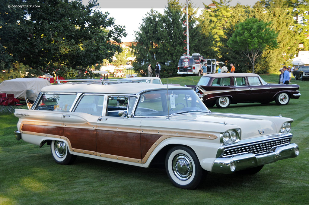 1959 Ford Station Wagon Series Image