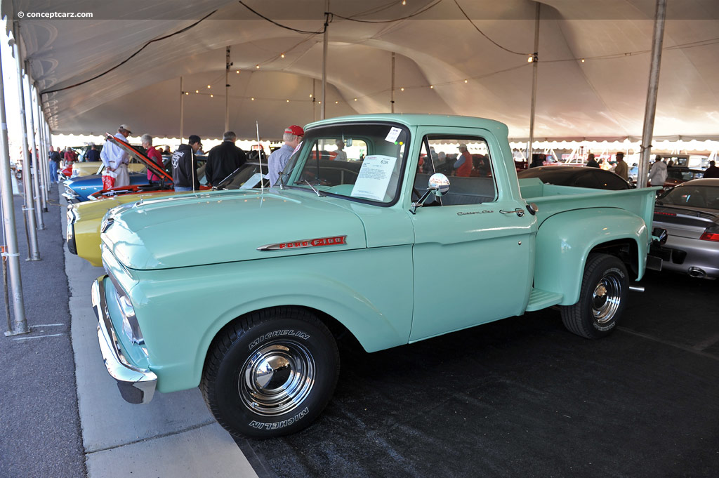 Volvo Culver City >> Auction results and data for 1961 Ford F100 - conceptcarz.com