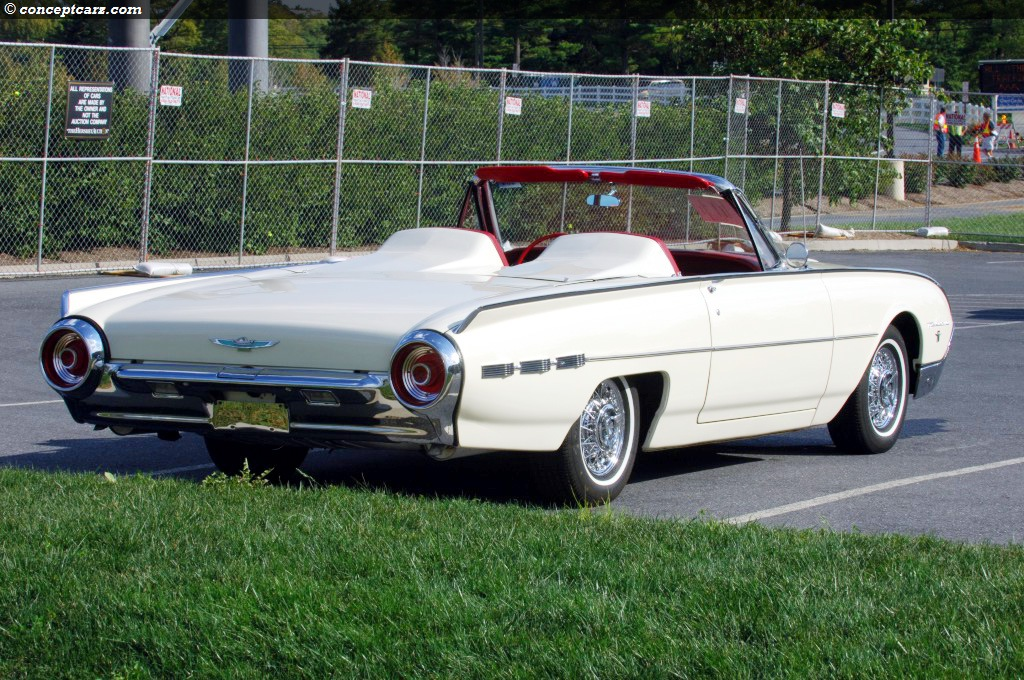 auction results and data for 1962 ford thunderbird. Cars Review. Best American Auto & Cars Review