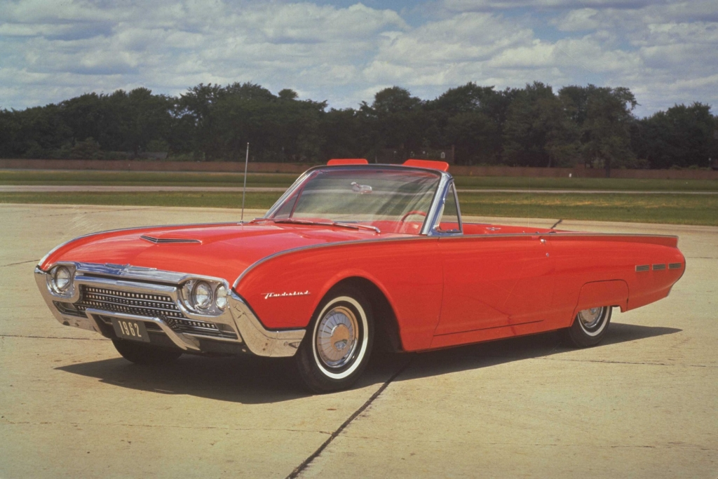 1962 Ford Thunderbird Pictures History Value Research