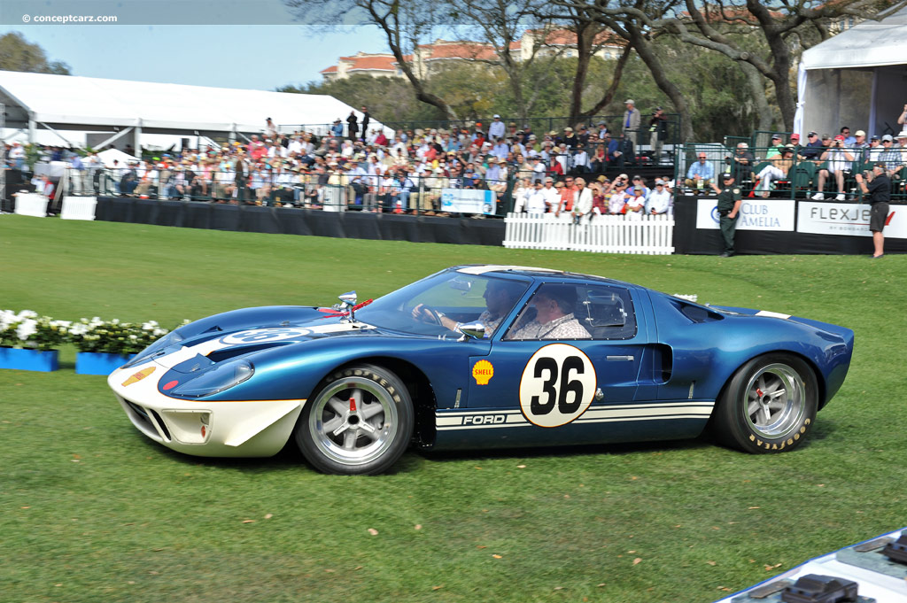 1965 ford gt40 event amelia island concours d elegance body