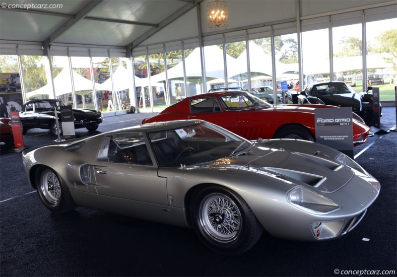 1966 ford gt40 chassis information