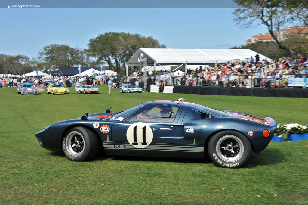1966 ford gt40 at the amelia island concours d 39 elegance. Black Bedroom Furniture Sets. Home Design Ideas