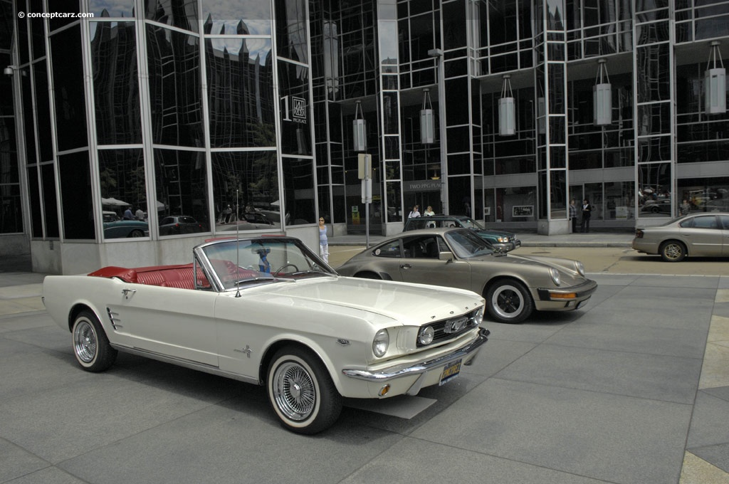 1966 ford mustang at the pittsburgh vintage grand prix parade and shows. Black Bedroom Furniture Sets. Home Design Ideas