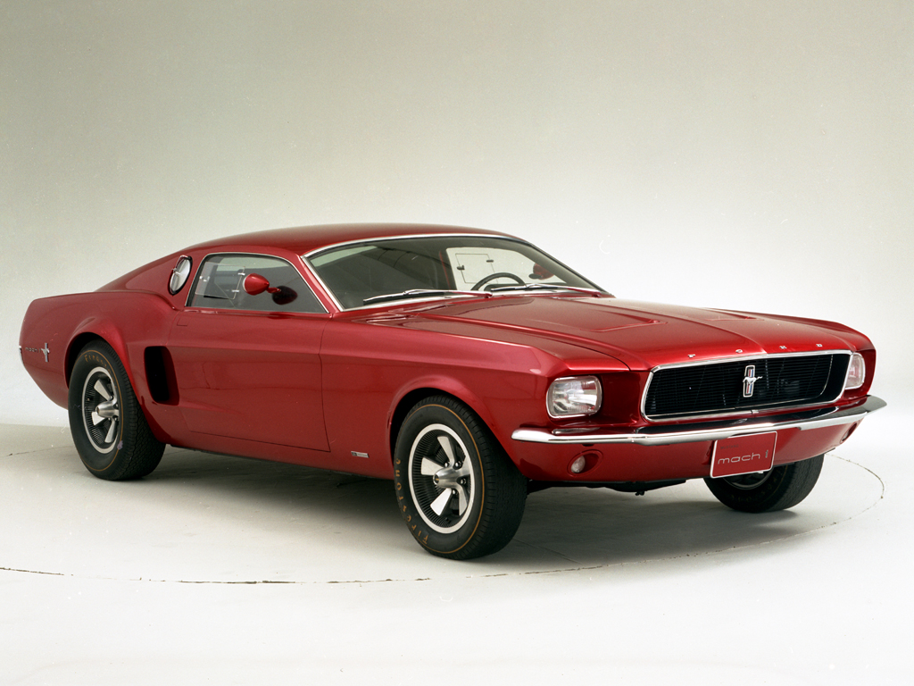 1966 ford mustang mach 1 concept - conceptcarz