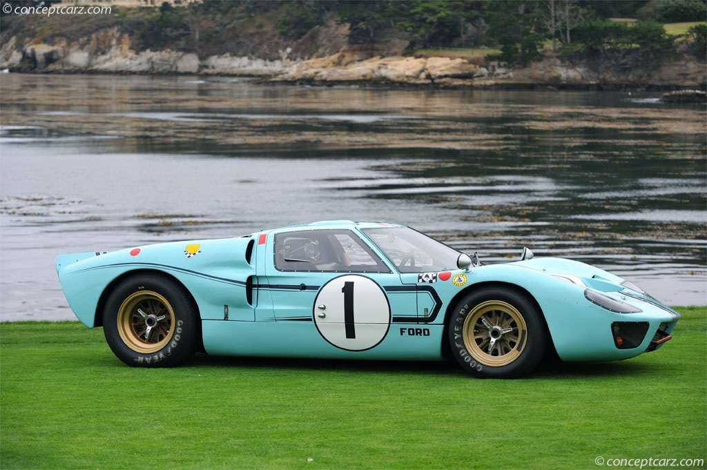 auction results and data for 1966 ford gt40. Black Bedroom Furniture Sets. Home Design Ideas