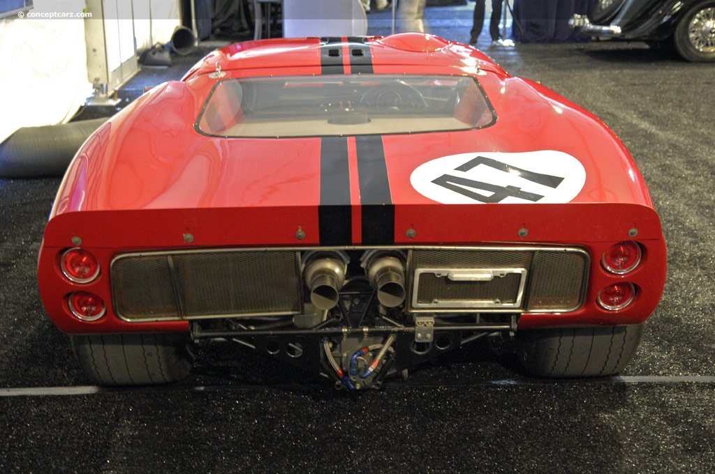 Chassis P/1047B. 1966 Ford GT40 chassis information