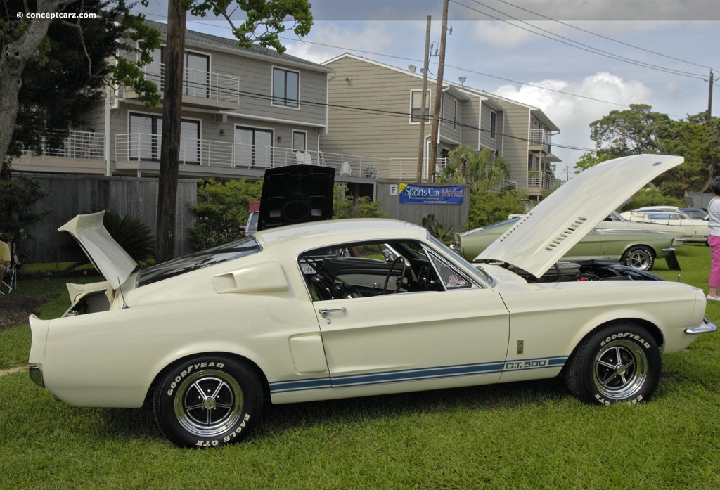 Auction results and data for 1967 Shelby Mustang GT 500