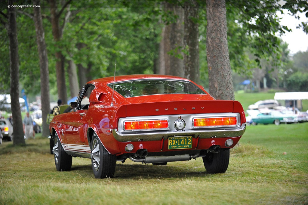 Auction results and data for 1968 Shelby Mustang Cobra GT 350