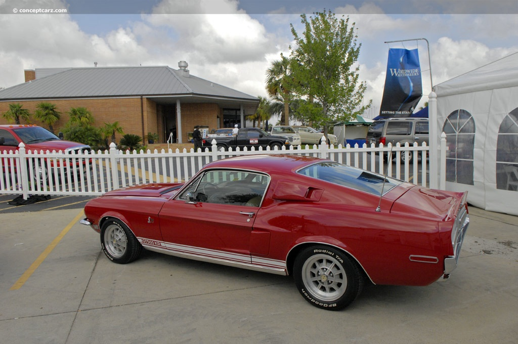 Auction results and data for 1968 Shelby Mustang GT500 KR