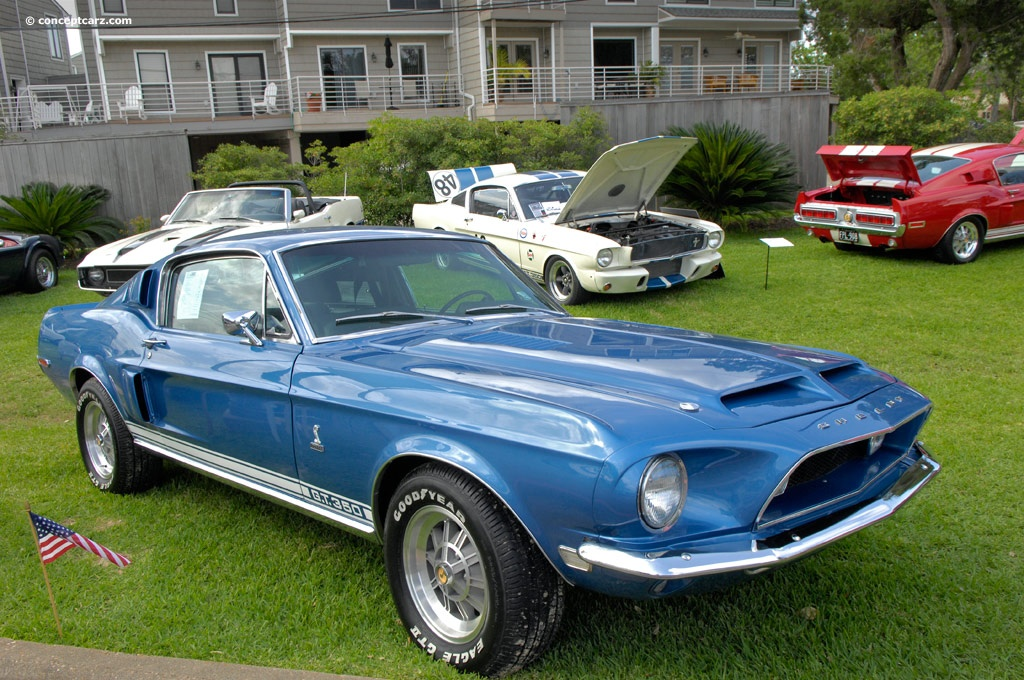 1968 Shelby Mustang GT500 KR Review  Top Speed