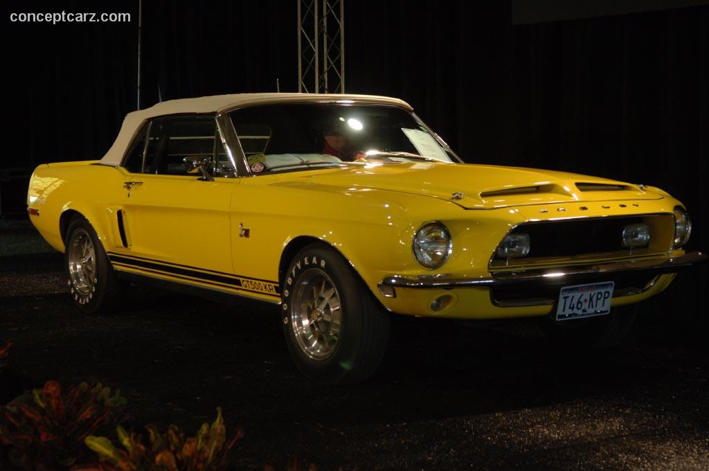 1968 Shelby Mustang GT500 KR  conceptcarzcom