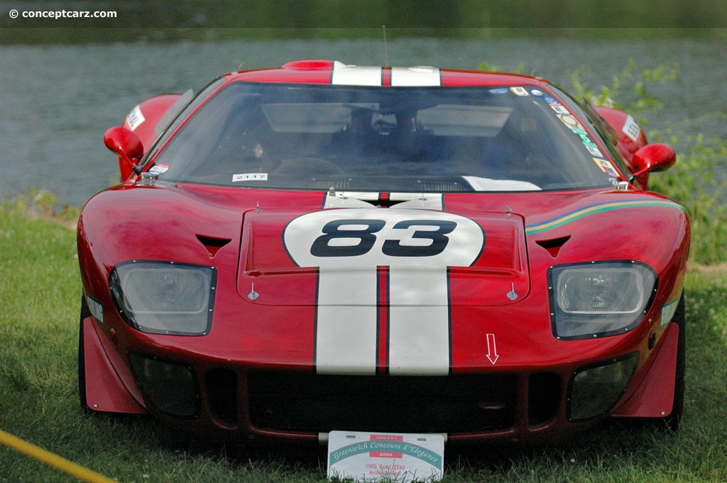1969 ford gt40 gt40 conceptcarz