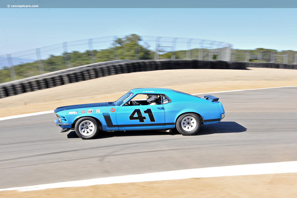 Chassis scca 72as11 1970 ford mustang boss 302 chassis for Ford motor company driver education series