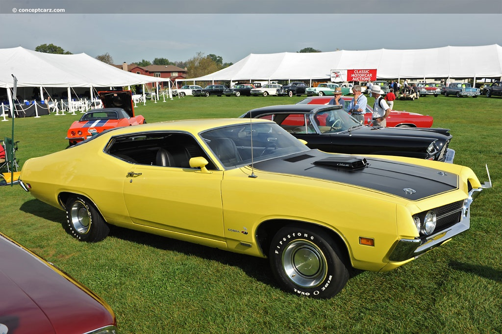 70 Torino Cobra Grabber Orange | American Muscle Car Connection ...