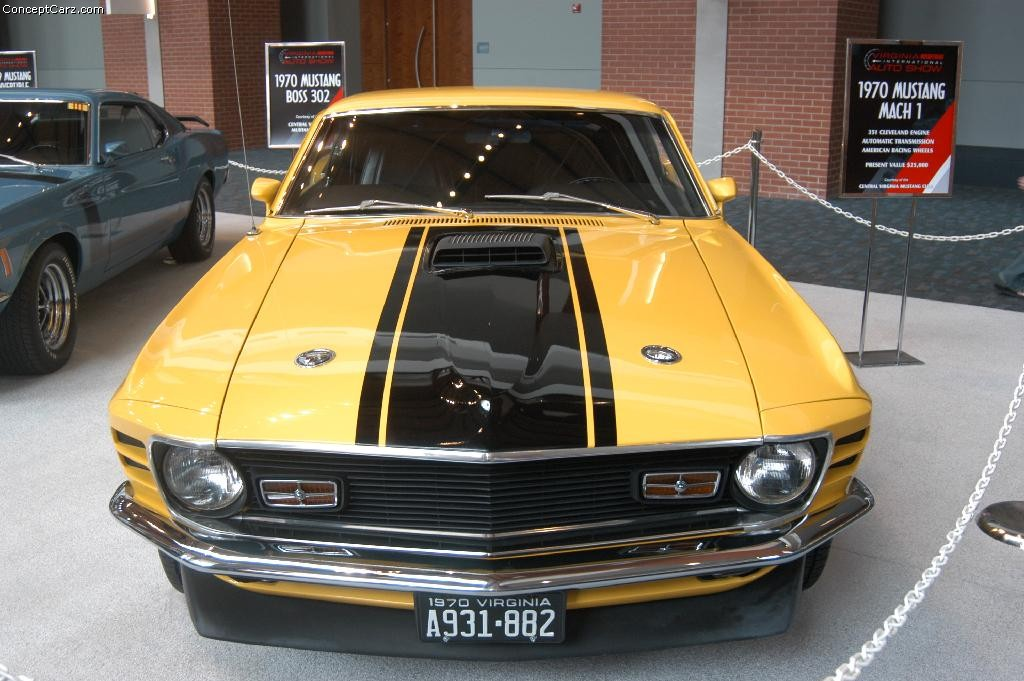 New Ford Torino >> 1970 Ford Mustang Mach 1 Pictures, History, Value, Research, News - conceptcarz.com