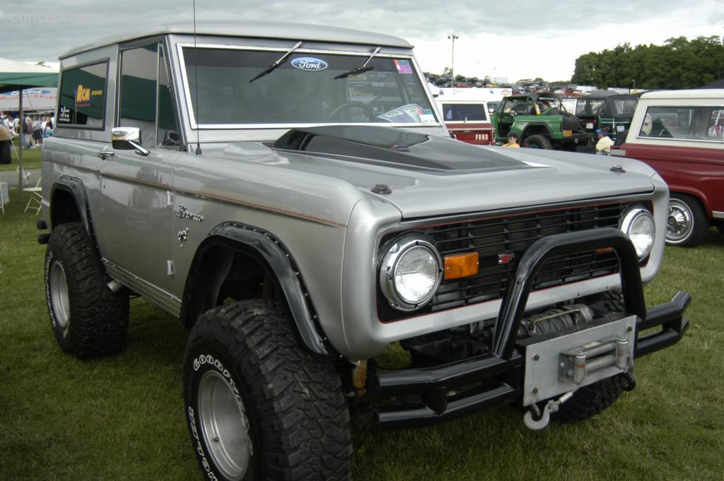 1971 Ford Bronco Conceptcarz Com