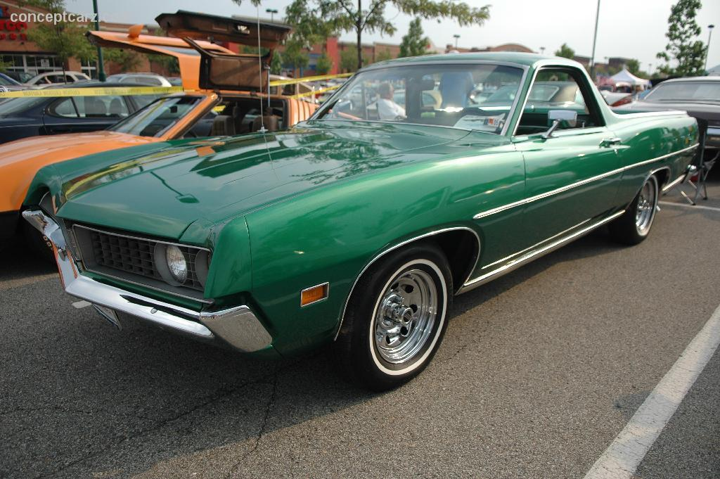 1971 Ford Ranchero Pictures History Value Research