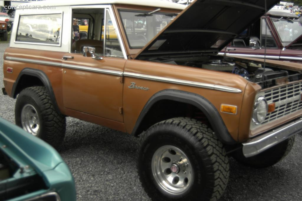 1972 Ford Bronco Technical Specifications and data Engine