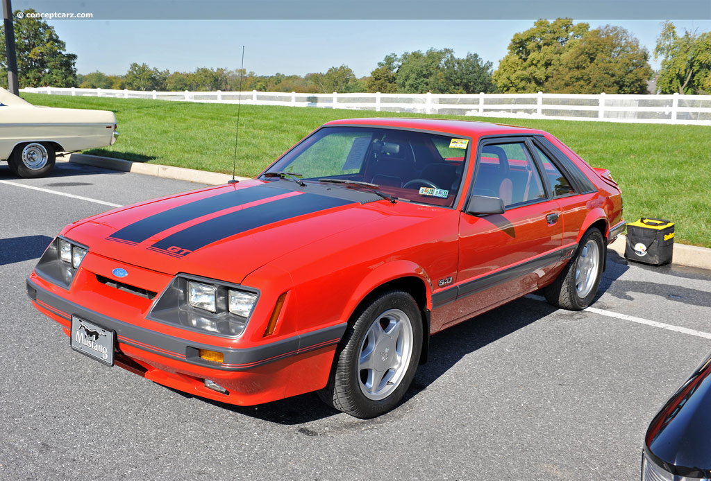 Auction Results And Data For 1986 Ford Mustang Svo Gt